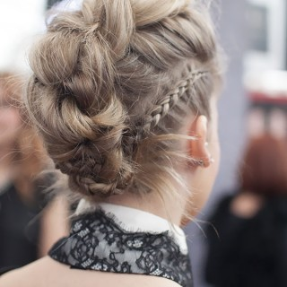 Hair Romance - Gorgeous braids at Hair Expo Sydney 2014