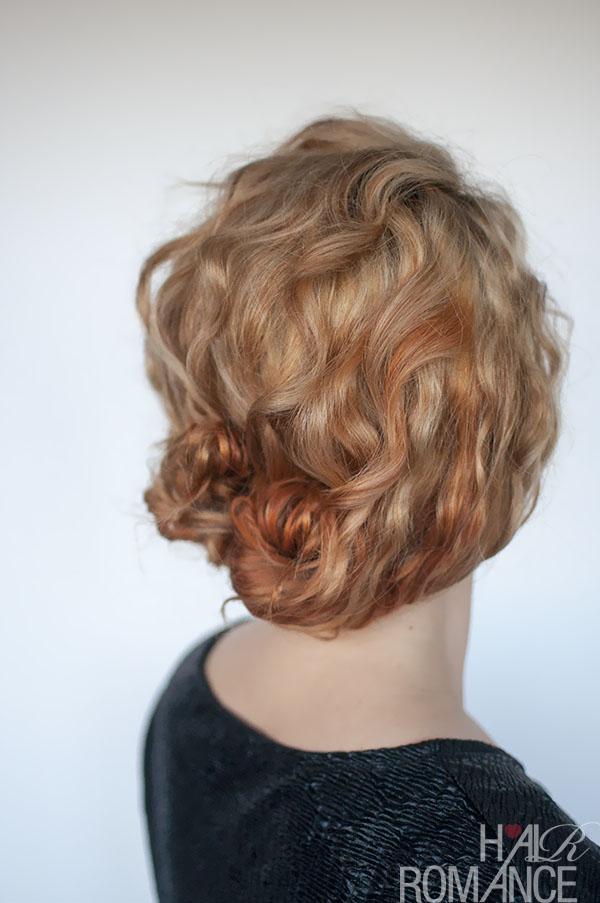 Hair Romance - curly double bun hair tutorial