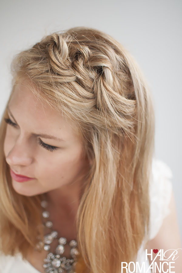 Hair Romance - Knot a braid hair style tutorial