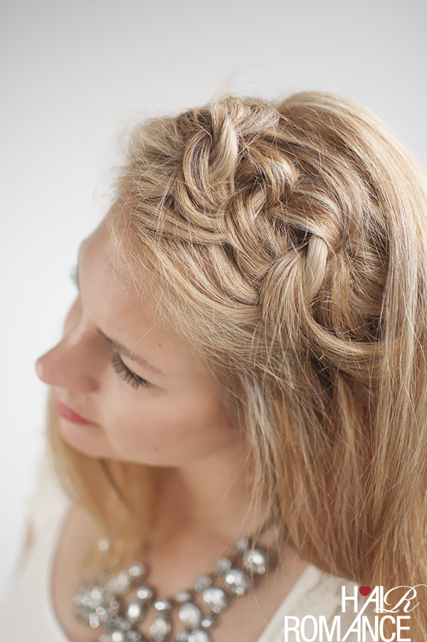 Hair Romance - Knot a braid tutorial