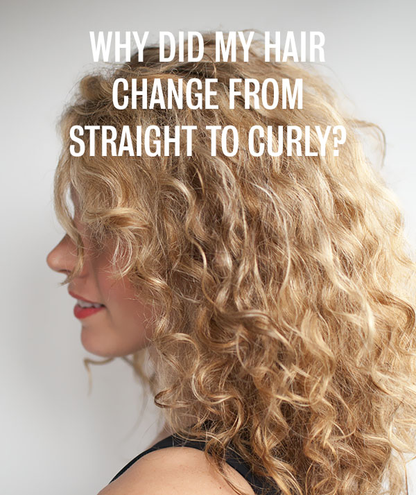 Hair Romance - Why did my hair change from straight to curly