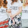 blondes brunettes redheads t shirts