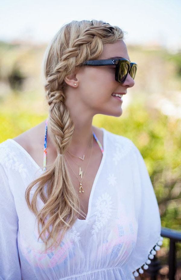 A little dash of darling - big hair braid