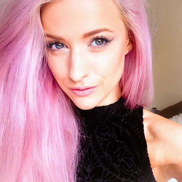 Big Hair Friday - INTHEFROW - pink hair