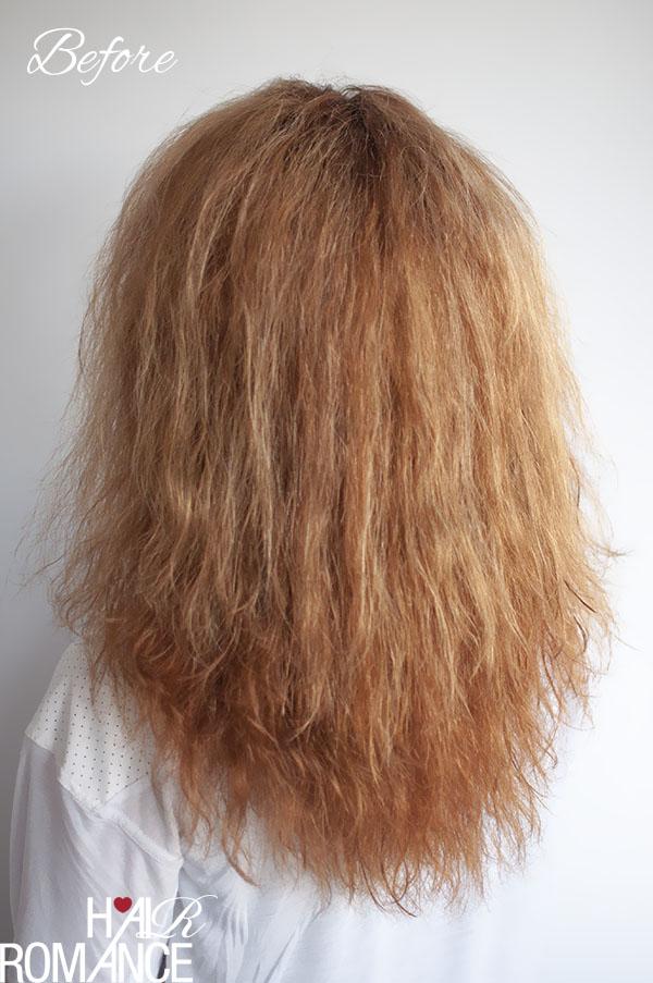 Hair Romance - Before - Kerastase Discipline treatment review