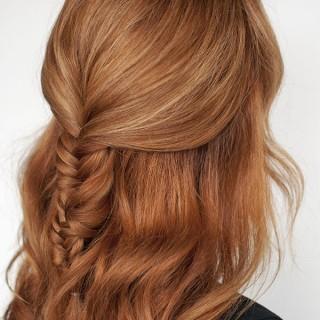 Hair Romance - Fishtail braid tutorial