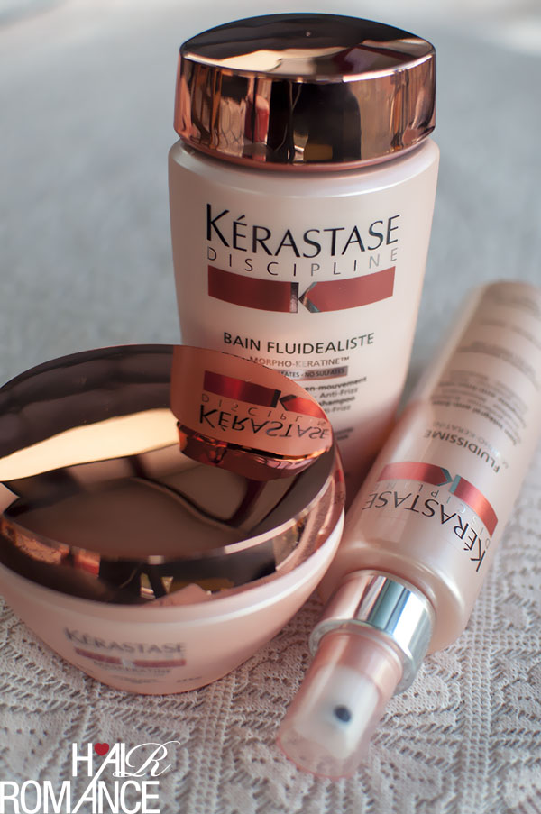 Hair Romance - Kerastase Discipline treatment and products review