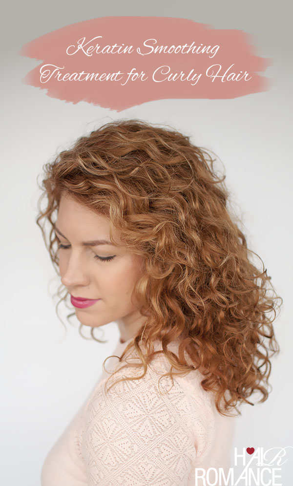 Hair Romance - Kerastase Discipline treatment review - Keratin smoothing for curly hair
