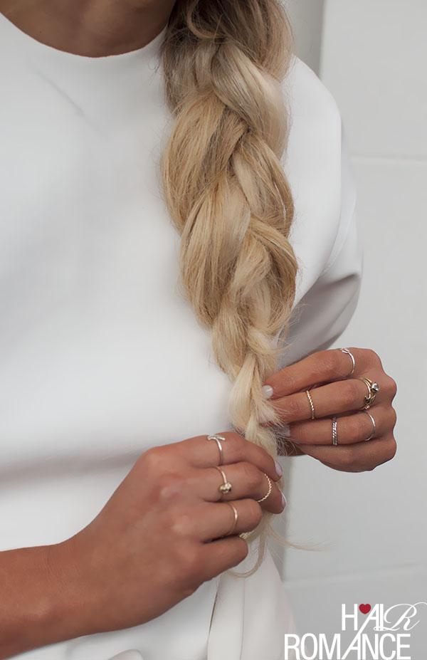 Hair Romance - big hair braid