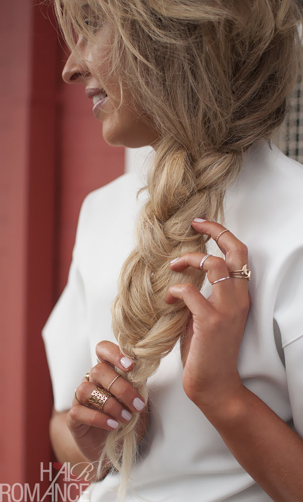 Hair Romance - big hair braids