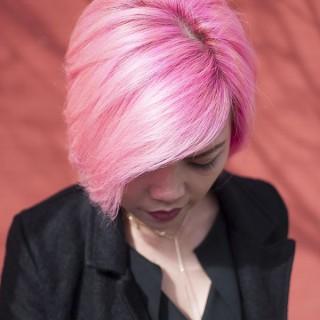 Short Cut Saturday – Pink hair