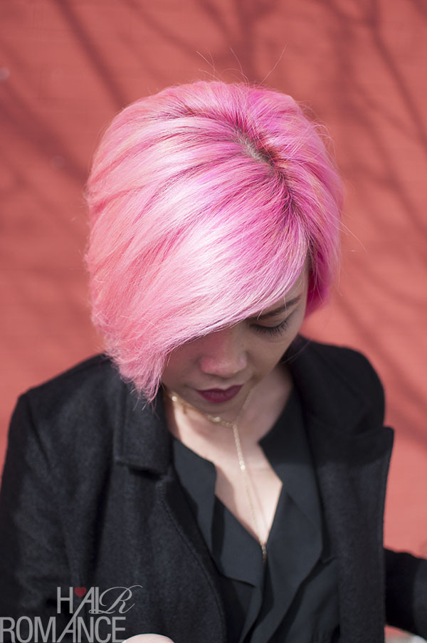 Hair Romance - fabulous short pink hair