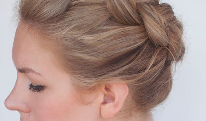 New braid tutorial – the high braided crown hairstyle