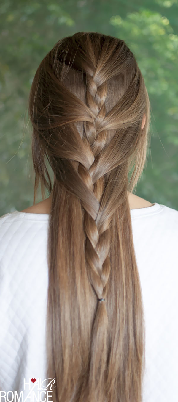 Hair Romance - Half French Braid hairstyle tutorial