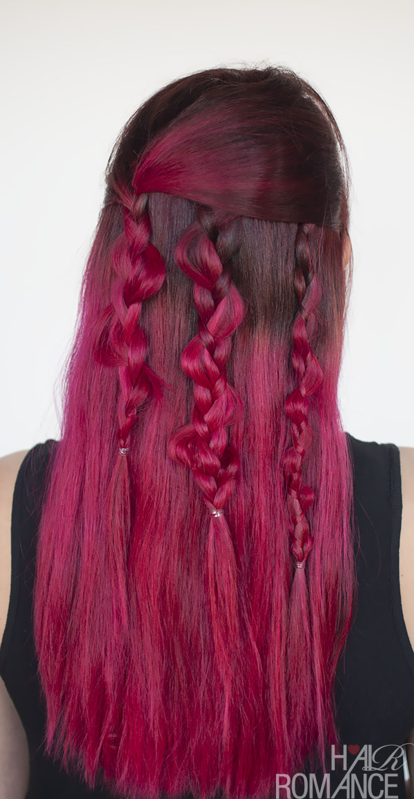 Hair Romance - boho braids how to