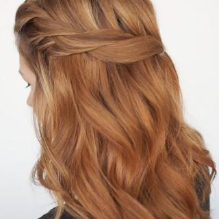 Hair Romance - twistback hairstyle tutorial