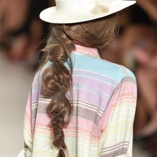 Mara Hoffman braids - NYFW 2014 SS15