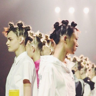 Marc by Marc Jacobs hair NYFW SS15