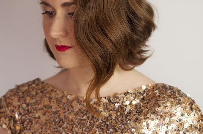Hair Romance - DIY Bridal Beauty ebook - vintage style fingerwaves