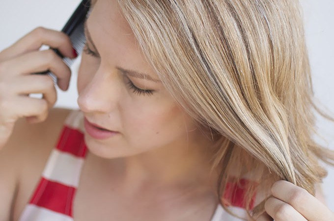 Hair Romance Hairstyling Hack - how to tame fine baby hairs