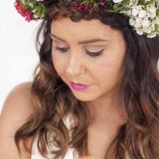 Hair Romance - DIY Bridal Beauty - braids & flower crowns