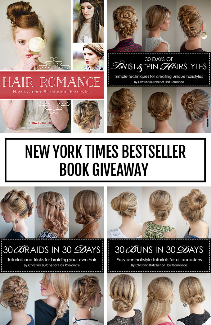 New York Times Bestseller giveaway
