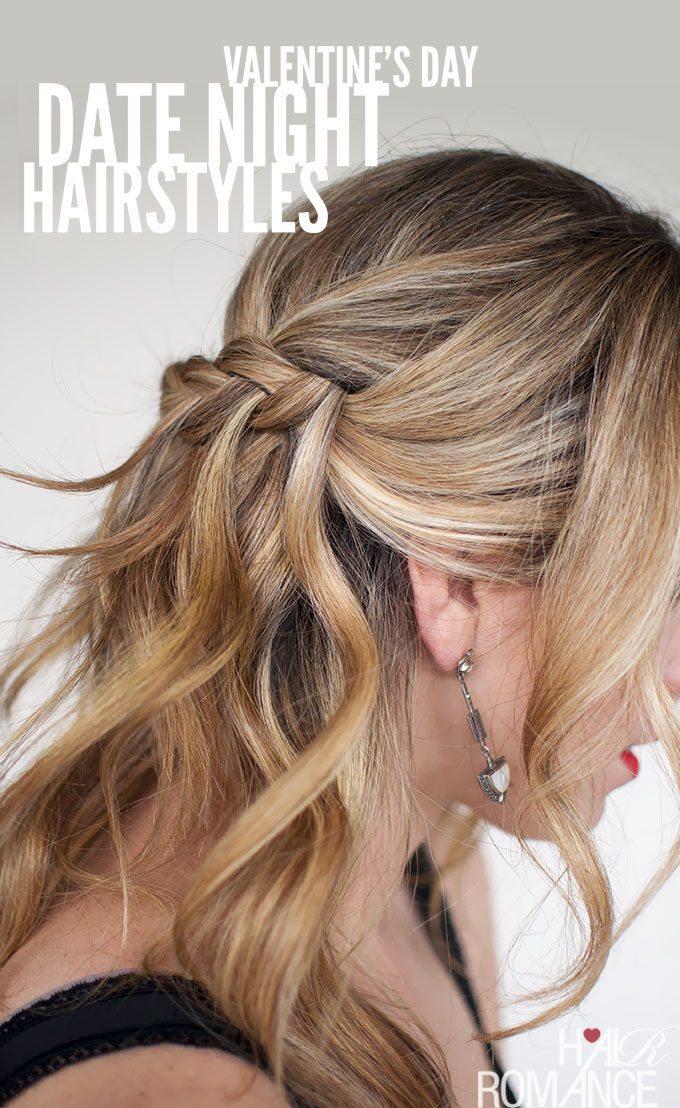 5 gorgeous date-night hairstyle ideas for Valentine's Day
