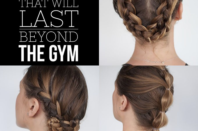 Hairstyles For Long Hair Gym : ... workout  3 long-lasting hairstyle tutorials you can wear all day