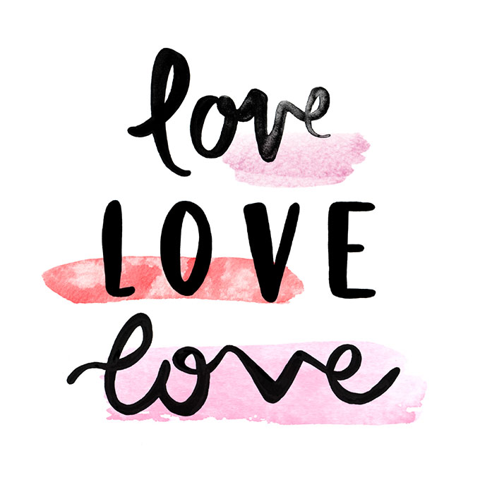 Love love love - by Emma Kate Co