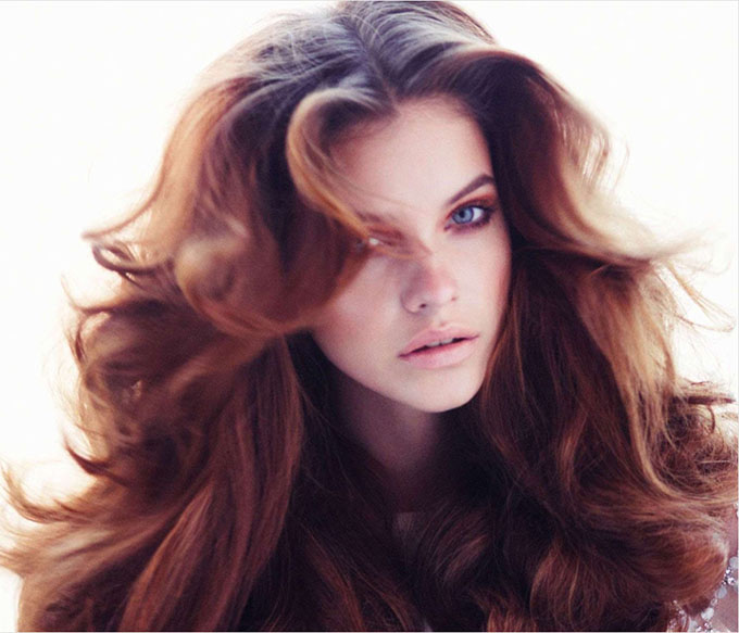 Big Hair Friday - Barbara Palvin