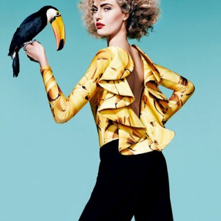 Big Hair Friday - Harpers Bazaar Brazil 1