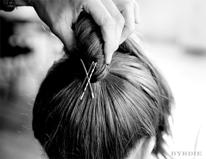 Bobby pin hair tricks