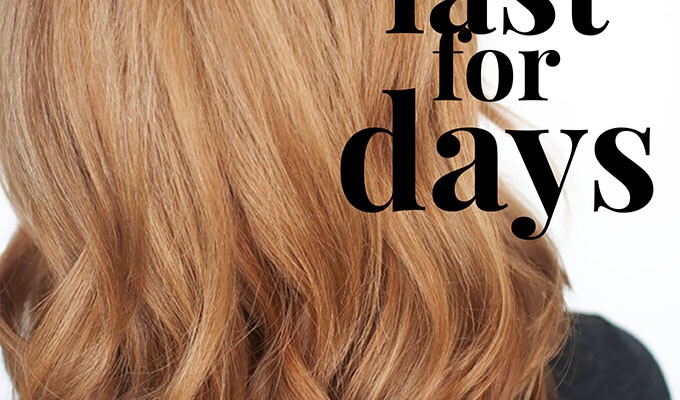 How to make your blowdry (blowout) last for days