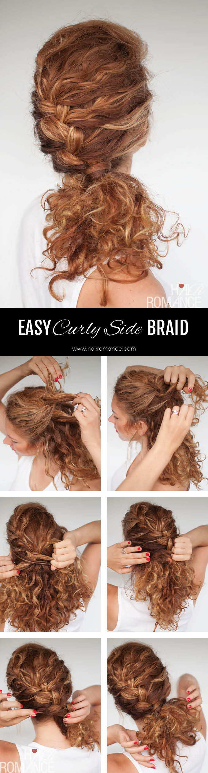 Easy Curly Wavy Hair Tutorial Everyday Hair Routine LONG HAIRSTYLES