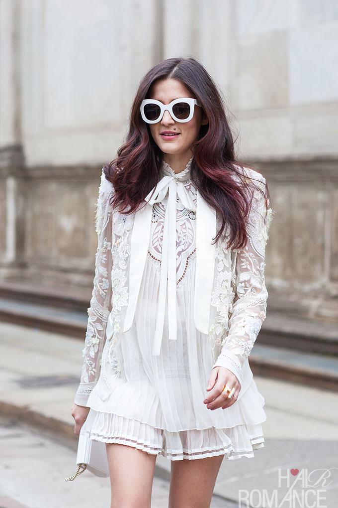 Hair Romance - Street style hair inspiration by Ashka Shen - pink highlights