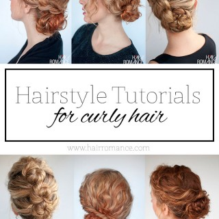 Hair Romance - top curly hairstyle tutorials