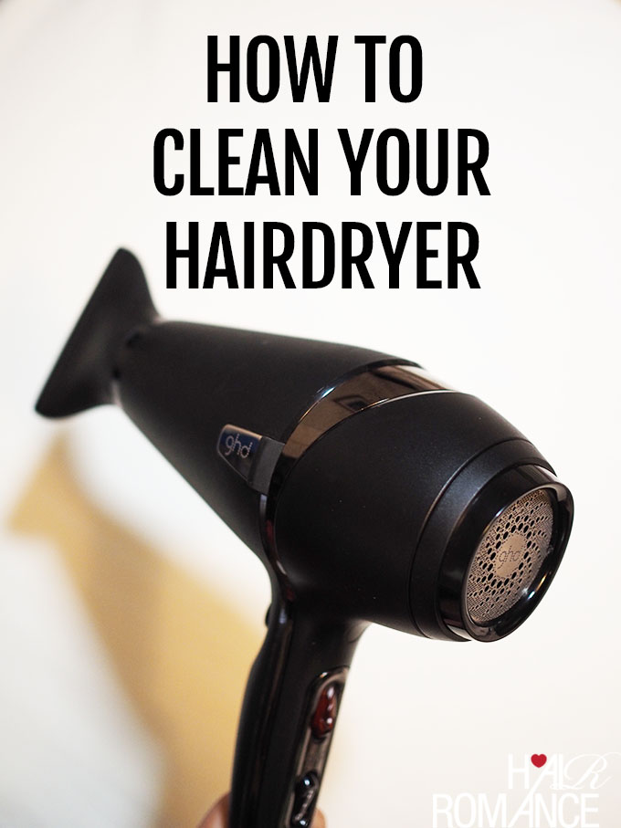 How to clean your hairdryer