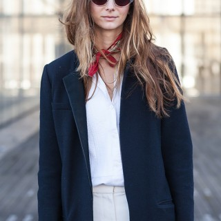 Street Style Hair Inspiration from Paris Fashion Week