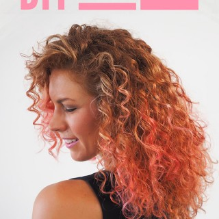 Hair Romance - How to DIY home hair colour - cotton candy hair
