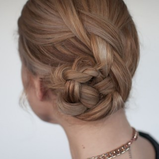 Hair Romance - Easy braided bun hairstyle tutorial