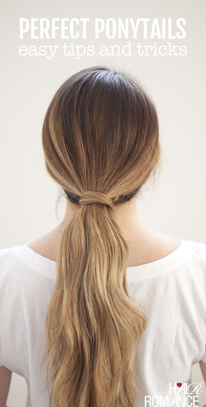 Perfect Ponytails – how to use a hair bungee and hide your ...