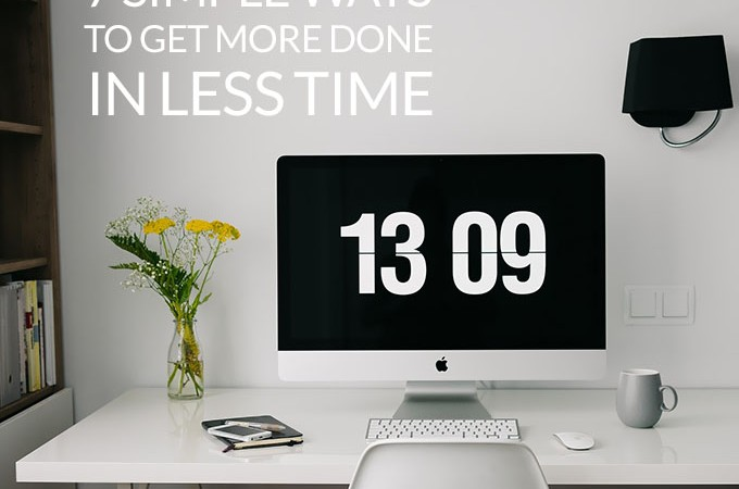 Hair Romance - Beauty Blog School - 7 simple ways to get more done in less time
