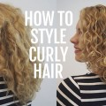 Hair Romance - How to style curly hair for frizz free curls