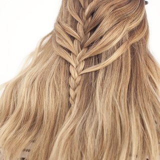 Waterfall Mermaid Braid Tutorial for Long Hair