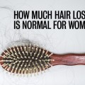 How much hair loss is normal for women
