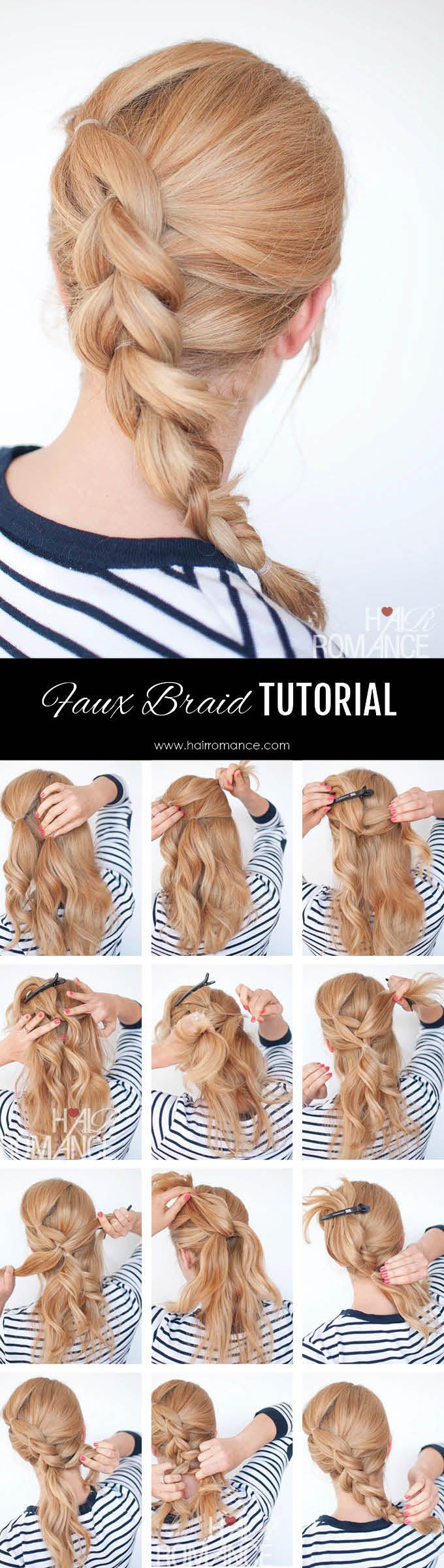 Braid Cheat Pull Through Braid Tutorial
