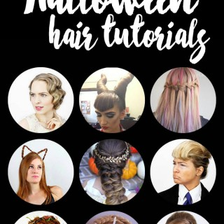Hair Romance - Halloween hairstyles - 27 DIY hair tutorials