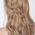 Hair Romance - Loop waterfall braid tutorial