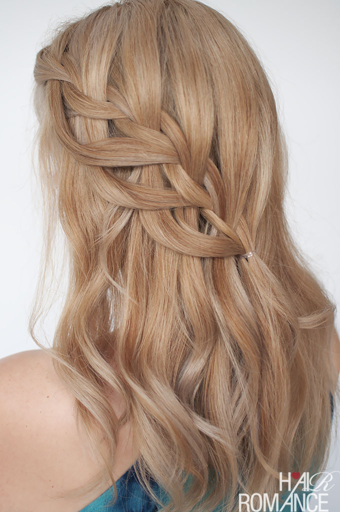 Loop Waterfall Braid Tutorial