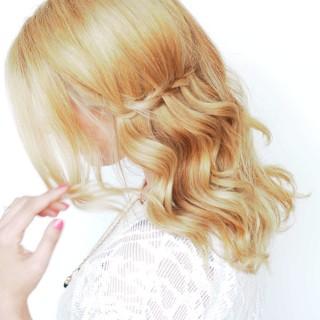 The easiest way to do a waterfall twist braid